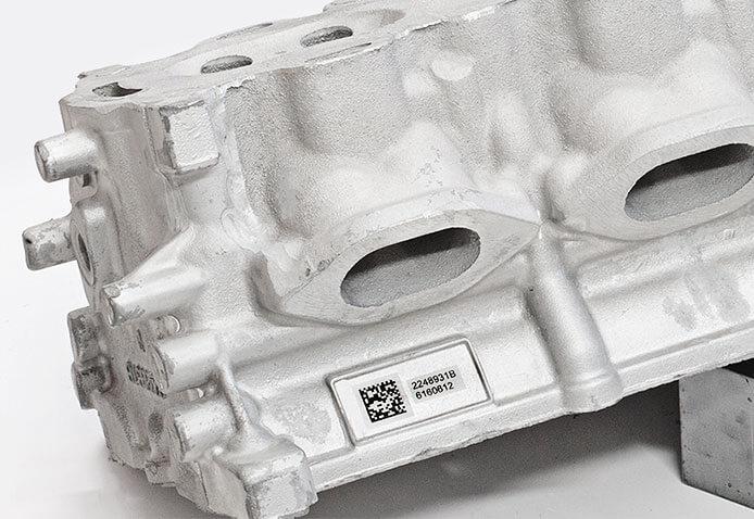 Automotive-Sample02 L'incisione Laser nell'Industria Fusoria