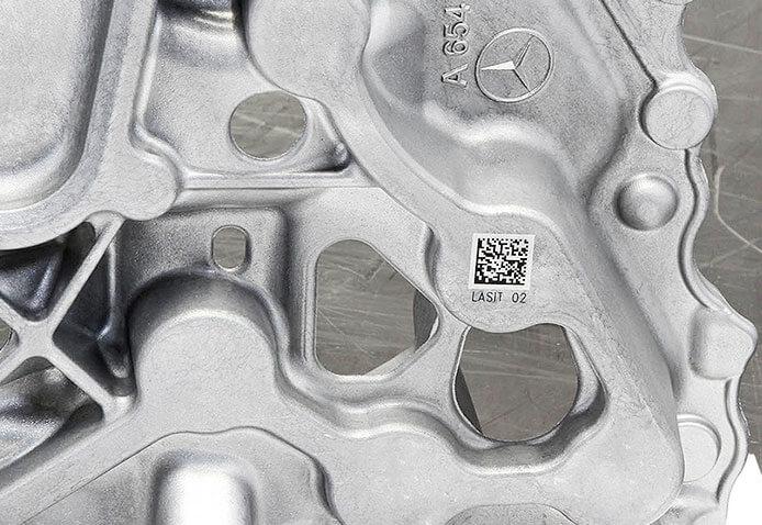 Automotive-Sample04 L'incisione Laser nell'Industria Fusoria