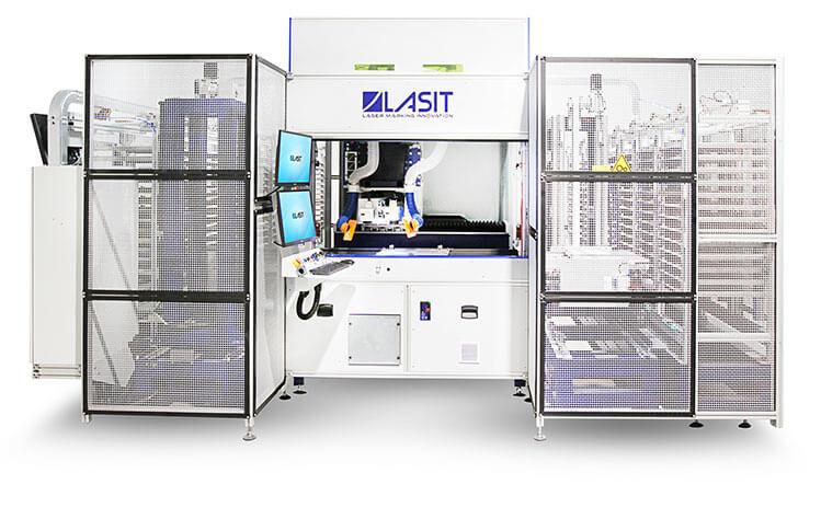 FlyGantryMag Fly Gantry MAG: La Marcatrice laser più grande del mondo è LASIT - Parte 2
